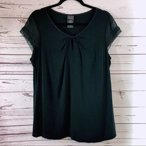 Cute Dressy Black Top from Covington